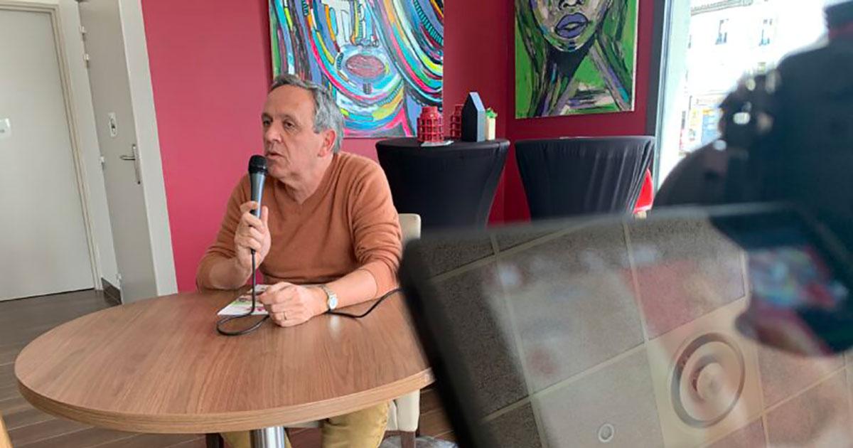 Alès : le candidat Paul Planque face à Objectif Gard