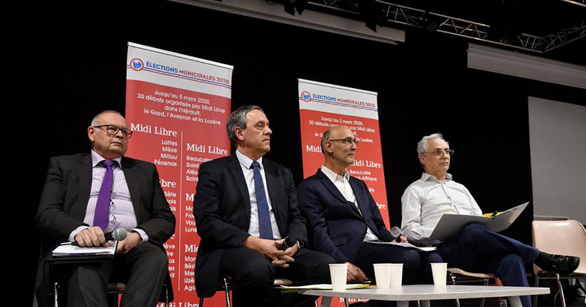 Municipales 2020 : revivez le débat Midi Libre organisé à Alès ce mardi