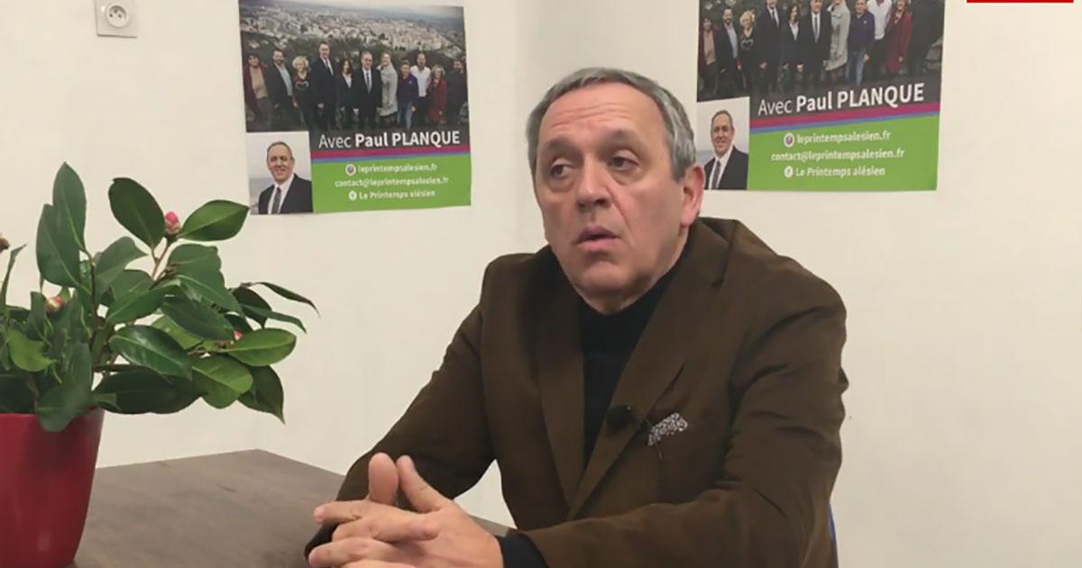Alès : environnement, logement, deux axes forts pour le candidat Paul Planque